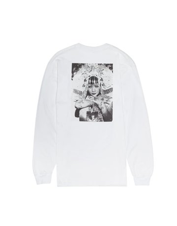 FUCKING AWESOME EVERYTHING SUCKS L/S TEE - WHITE