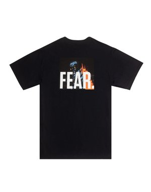 FUCKING AWESOME FEAR TEE - BLACK