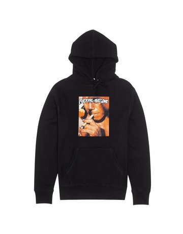 FUCKING AWESOME LOCALS HOODIE - BLACK