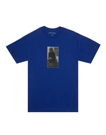 FUCKING AWESOME PERSONALITY TEST TEE - COBALT