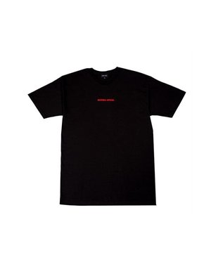 NOTHING SPECIAL FAMILIA SS T-SHIRT - BLACK