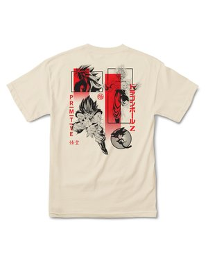 PRIMITIVE DBZ COLLAGE TEE - CREAM