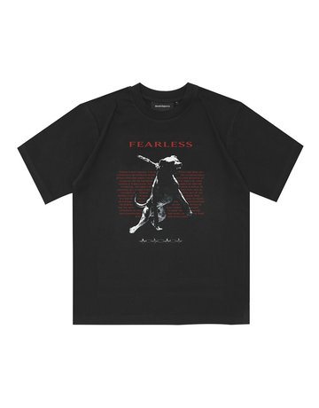 WASTED PARIS FEARLESS TEE