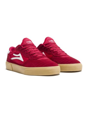LAKAI CAMBRIDGE - RED/GUM