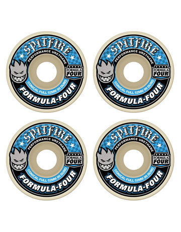 SPITFIRE FORMULA FOUR CONICAL FULL BLUE 52MM 99A