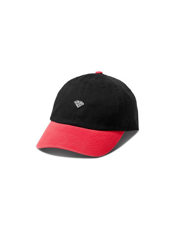 DIAMOND BRILLIANT PATCH SPORTS HAT - BLACK