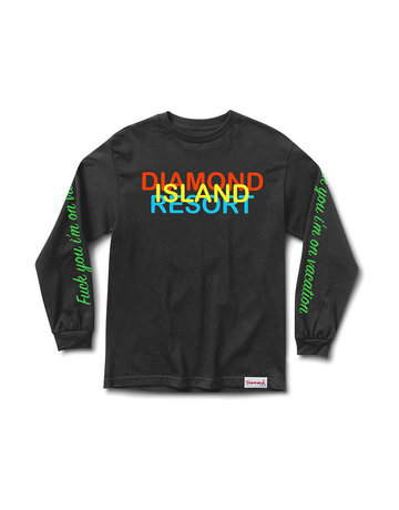 DIAMOND DIAMOND RESORT L/S TEE
