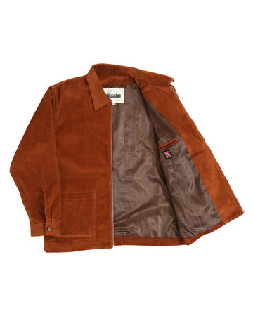 PIILGRIM JEFFERSON JACKET - UMBER