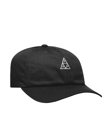 HUF ESSENTIALS TT CV HAT BLACK