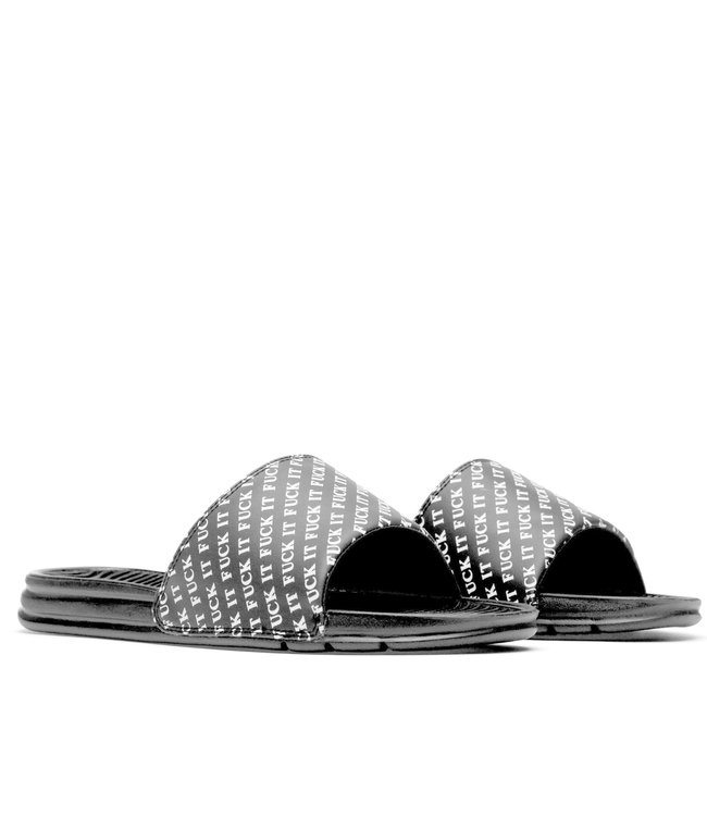 HUF FUCK IT SLIDE - BLACK