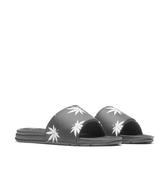 HUF PLANTLIFE SLIDE - BLACK