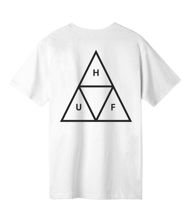 HUF ESSENTIALS TT S/S TEE - WHITE
