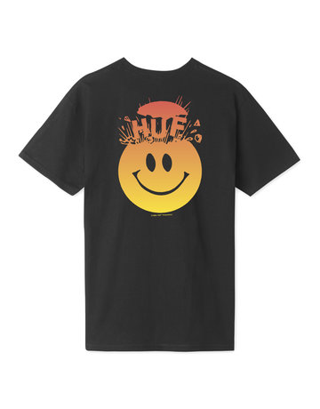 HUF MIND BLOWN S/S TEE - BLACK