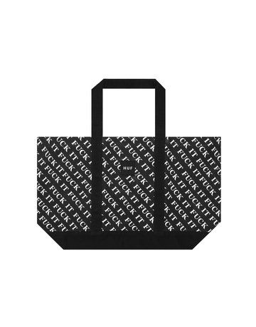 HUF FUCK IT TOTE - BLACK