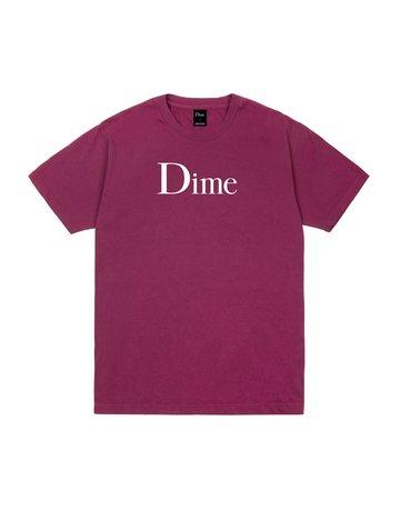 DIME DIME CLASSIC T-SHIRT - RUBY