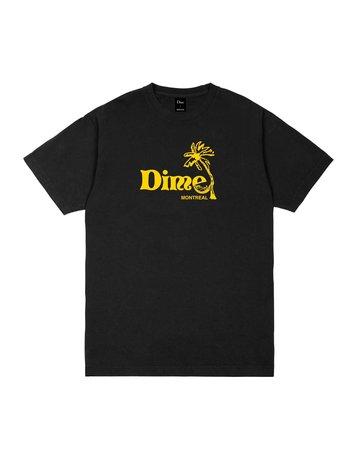DIME ISLAND T-SHIRT - BLACK