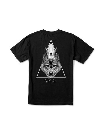 PRIMITIVE HUNTER TEE - BLACK