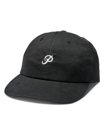PRIMITIVE MINI CLASSIC P DAD HAT - BLACK