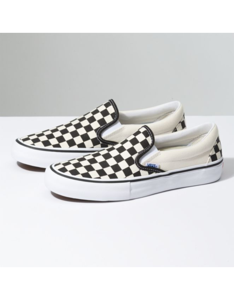 VANS MN Slip-On Pro - (Checkerboard) black/white