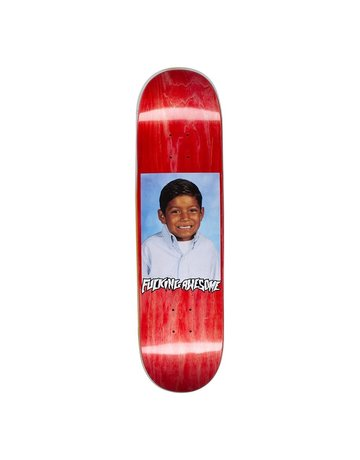 FUCKING AWESOME LOUIE LOPEZ PHOTO DECK - RED - 8.25
