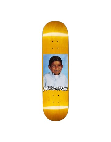 FUCKING AWESOME LOUIE LOPEZ PHOTO DECK - YELLOW - 8.25