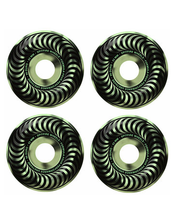 SPITFIRE FORMULA FOUR - CLASSIC - STAY LIT - GLOW - 53MM 99A