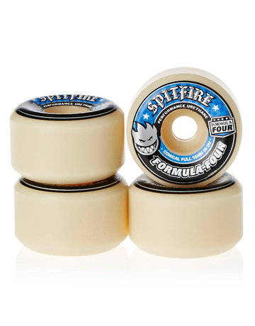 SPITFIRE Copy of FORMULA FOUR CONICAL FULL RED 54MM 101A