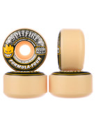 SPITFIRE FORMULA FOUR CONICAL YELLOW PRINT 52MM 99A