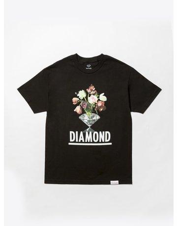 DIAMOND POLLINATION TEE - BLACK