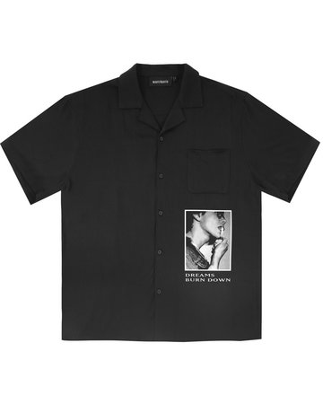WASTED PARIS SHIRT KILL BLACK