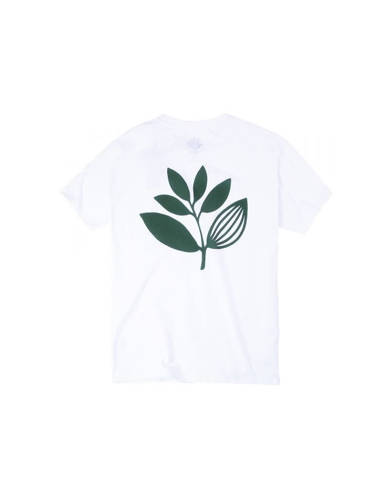 MAGENTA CLASSIC PLANT TEE - WHITE / GREEN
