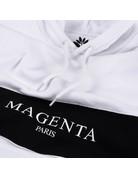 MAGENTA PARIS HOODIE - WHITE