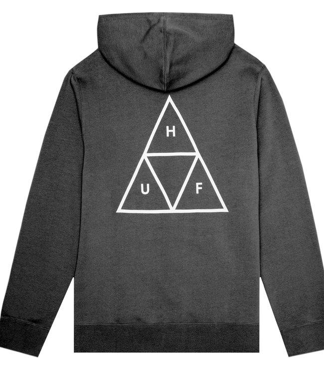 HUF Essentials Tt Pullover Hoodie - Black