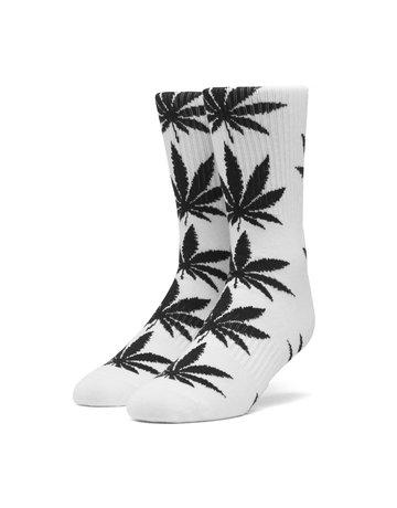 HUF PLANTLIFE SOCKS - WHITE