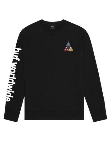 HUF PRISM CREW - BLACK