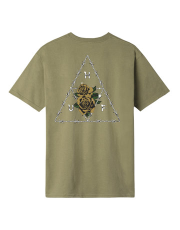 HUF DYSTOPIA TT S/S TEE - DRIED HERB