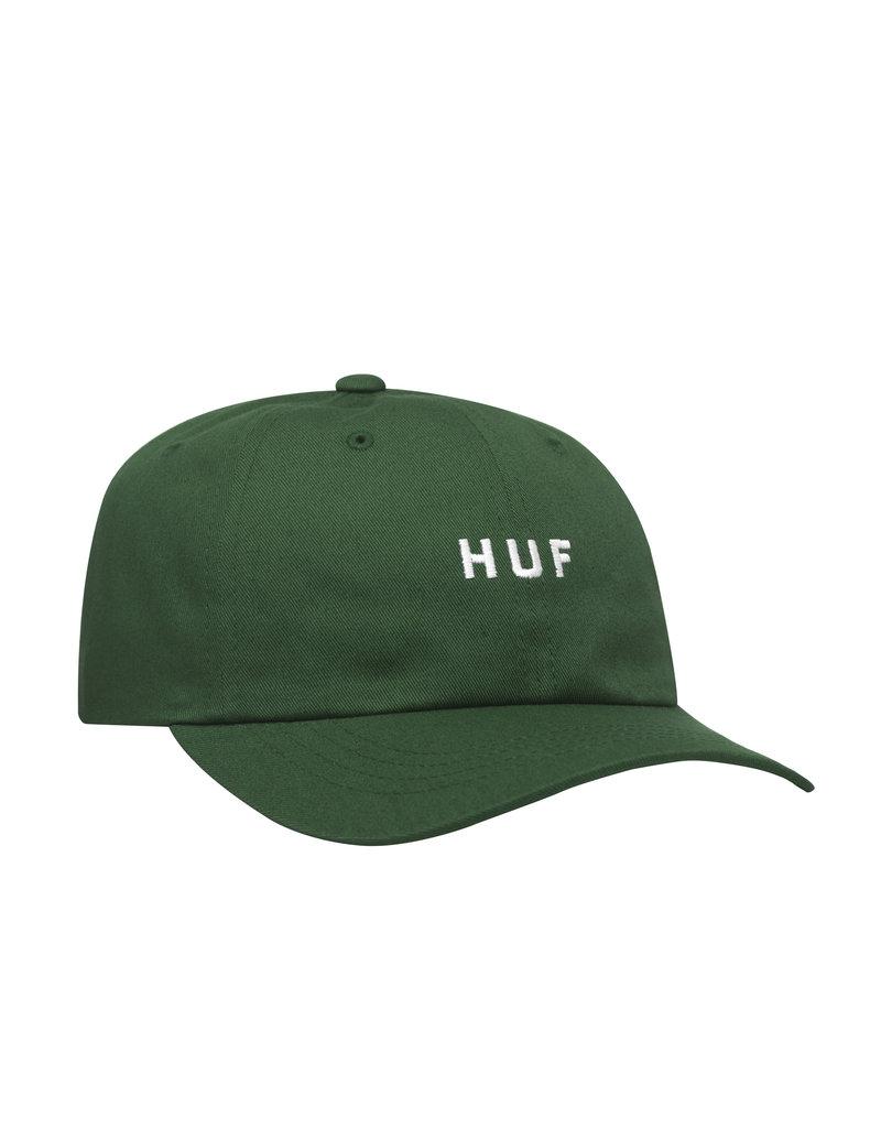 HUF ESSENTIALS OG LOGO CV HAT - BOTANICAL GREEN