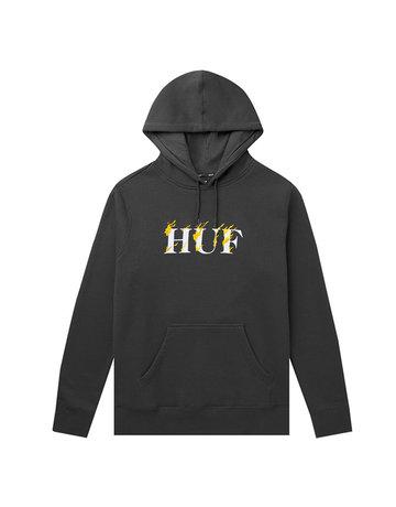 HUF PHOENIX P/O HOODIE - BLACK