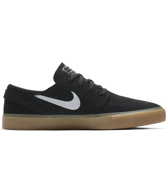 NIKE SB JANOSKI RM - BLACK/WHITE-BLACK-GUM LIGHT BROWN