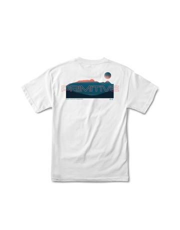 PRIMITIVE DUSK TEE - WHITE
