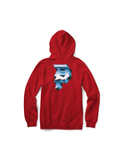 PRIMITIVE HEAVYWEIGHT DIRTY P YM HOOD - RED