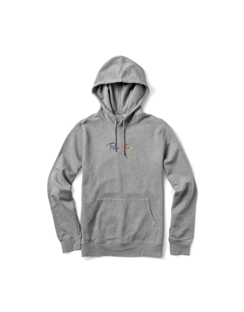 PRIMITIVE NUEVO SPECTRUM YM HOOD - HEATHER GREY