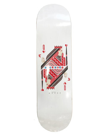 WOODZ SHOPDECK WOODZ QUEEN 8.375