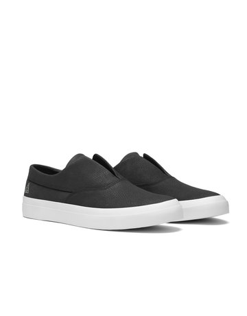 HUF DYLAN SLIP ON - BLACK/BLACK/WHITE