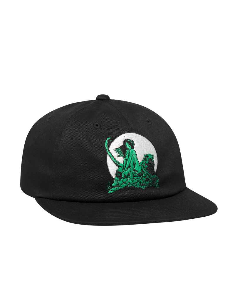 HUF FRAZETTA LIVING LEGEND HAT - BLACK