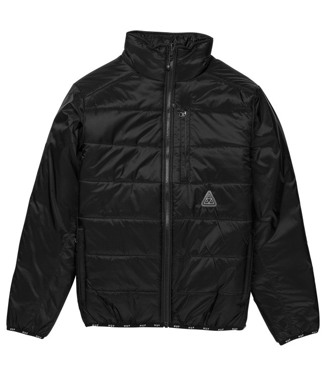 HUF Geode Puffy Jacket - Black