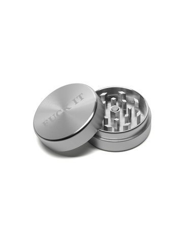 HUF FUCK IT GRINDER - SILVER