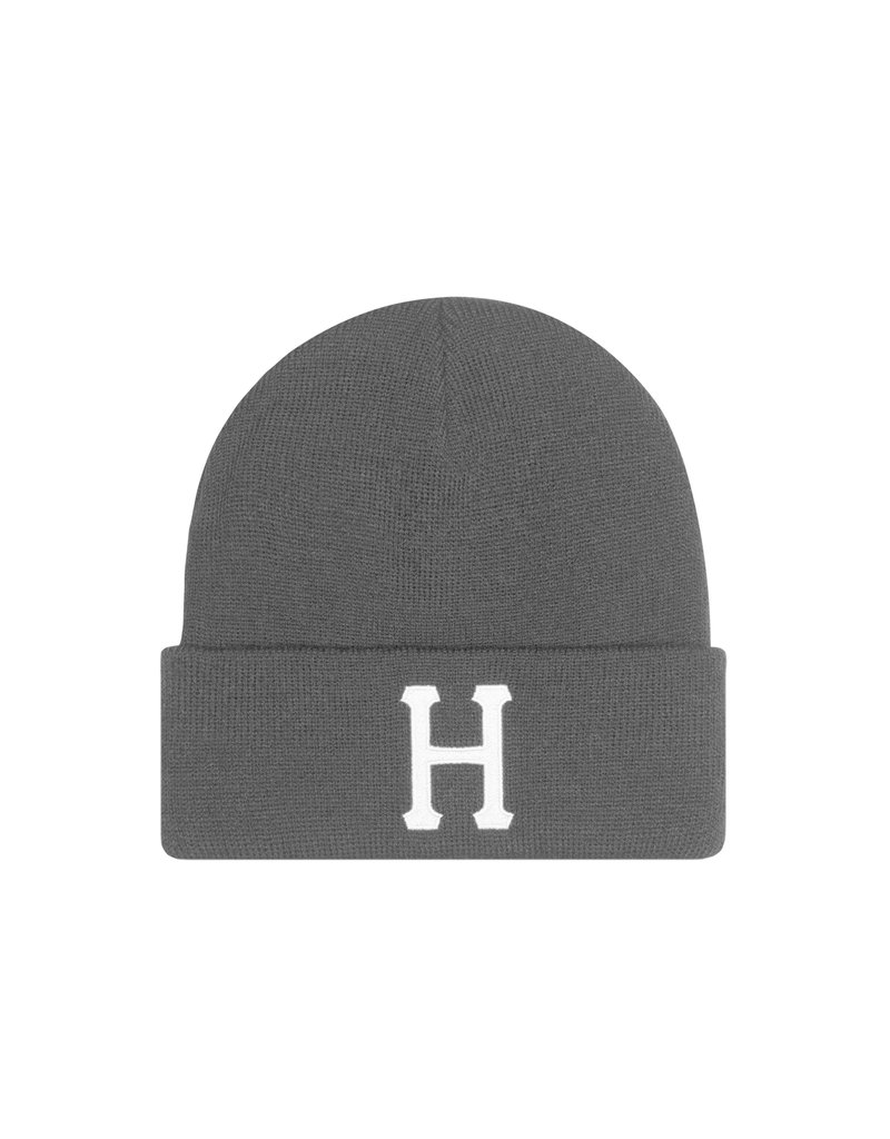 HUF CLASSIC H BEANIE - BLACK