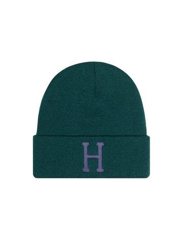 HUF CLASSIC H BEANIE - BOTANICAL GREEN