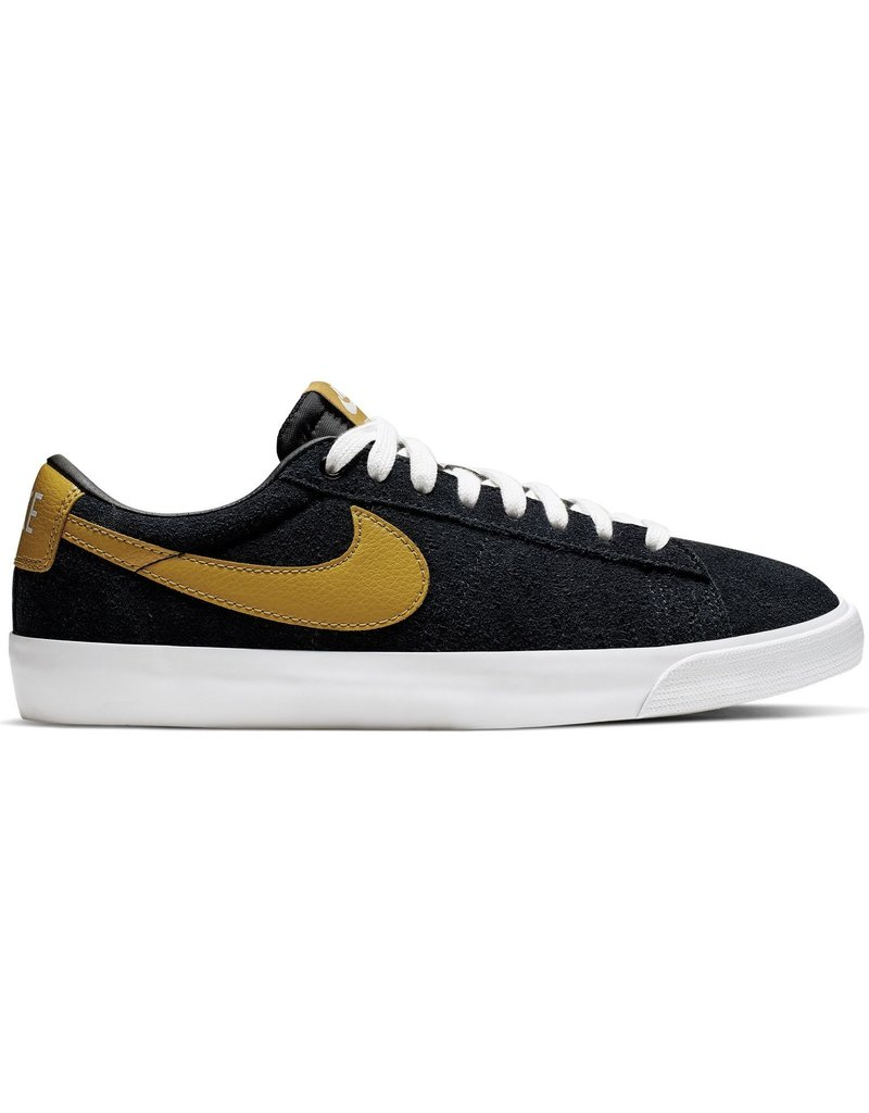 NIKE SB BLAZER LOW GT - BLACK/WHEAT-SUMMIT WHITE